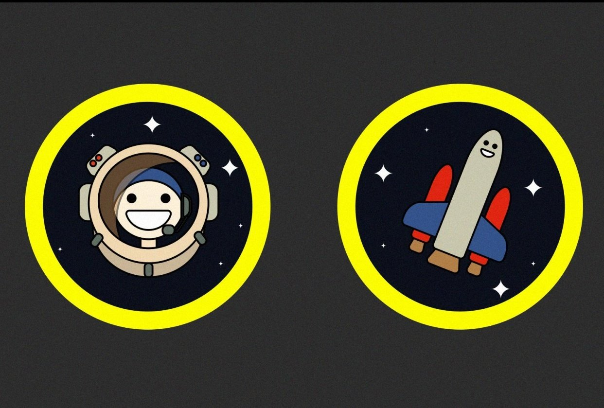 Happy Space Stuff - student project