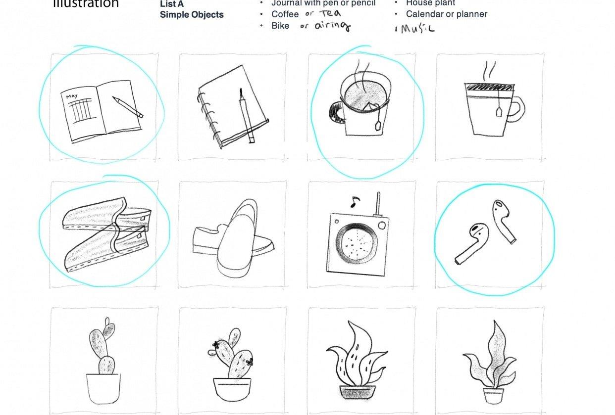 """Illustration""_ thumbnails of set1 - student project"