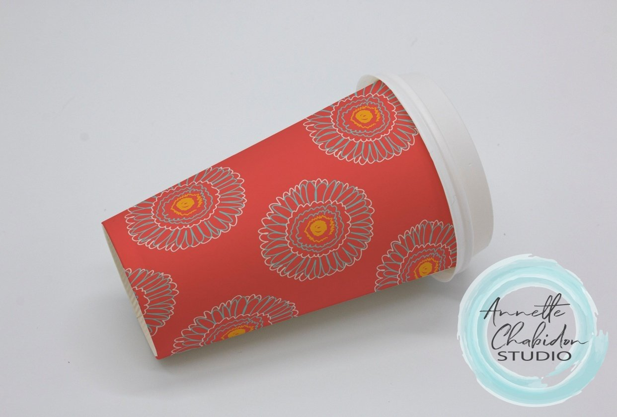 Wired Gerber Paper cup - student project