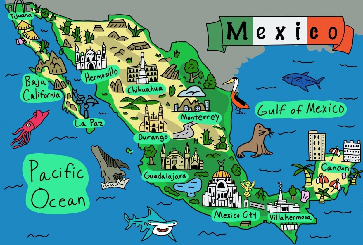City Guides for Mexico - student project
