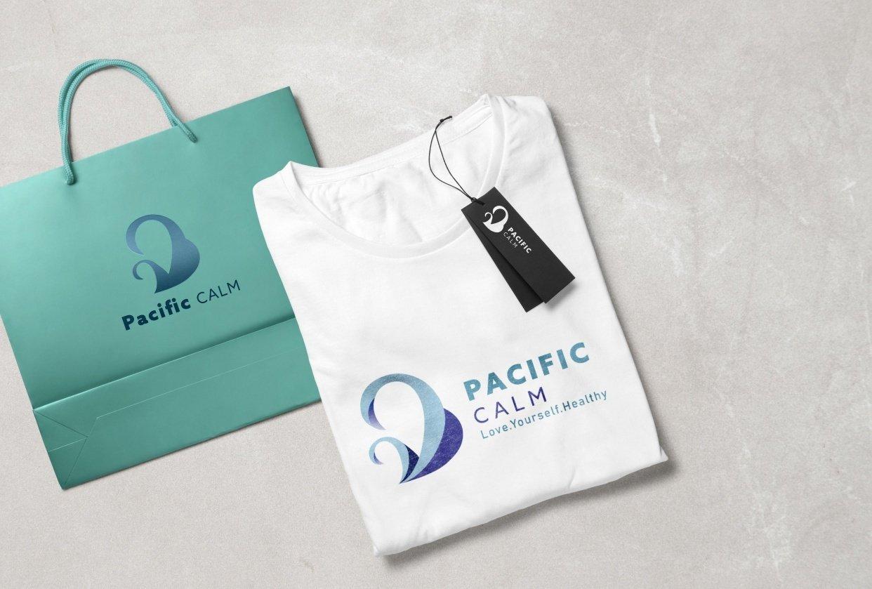 Pacific Calm - logo design - student project