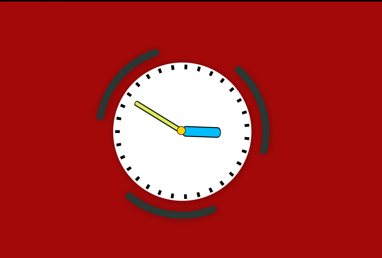 Thanks for the course here is my clock - student project