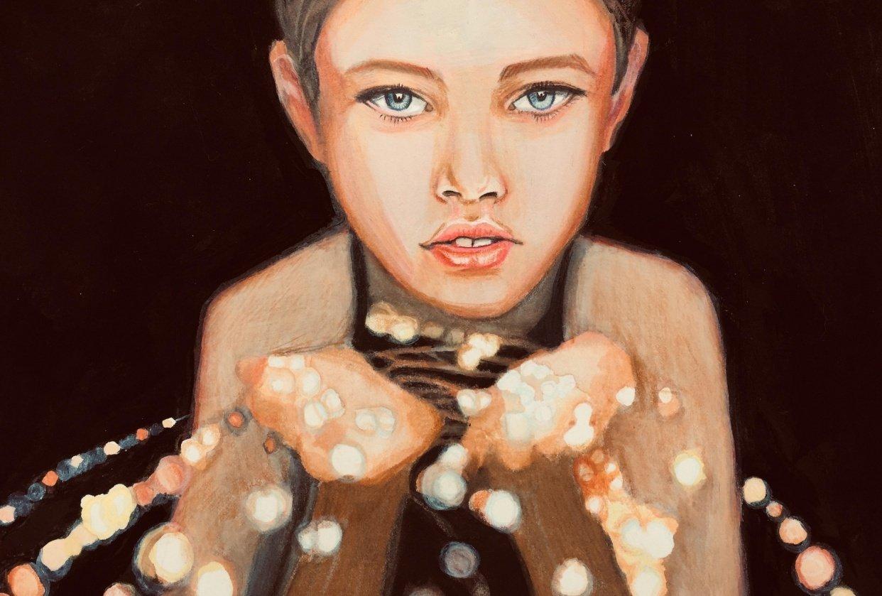 Lightened Portrait - student project