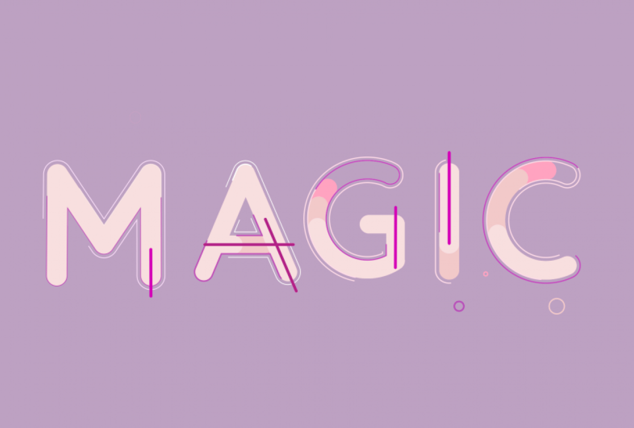 Magic Lettering - student project