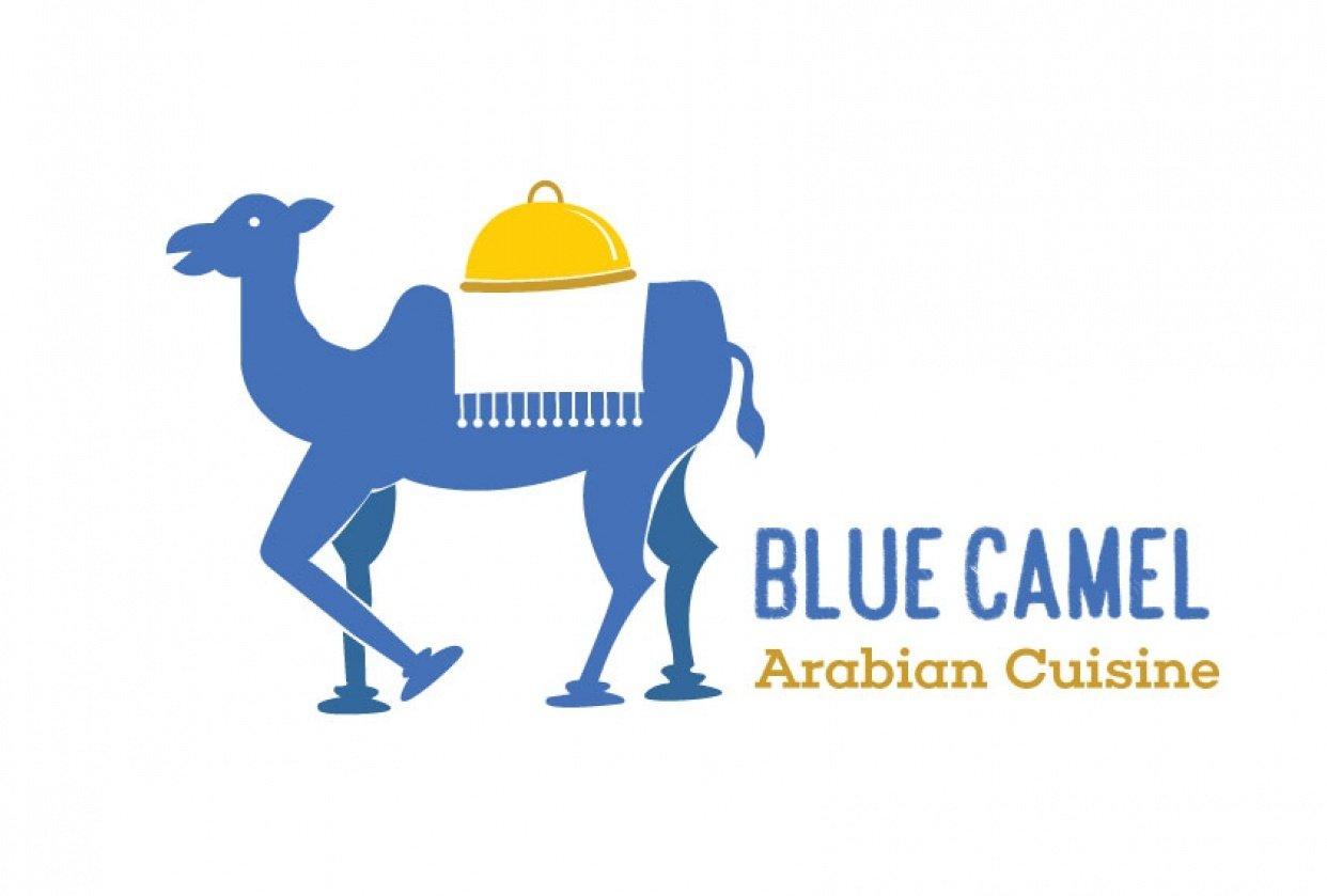 Blue Camel - Arabian Cuisine - student project