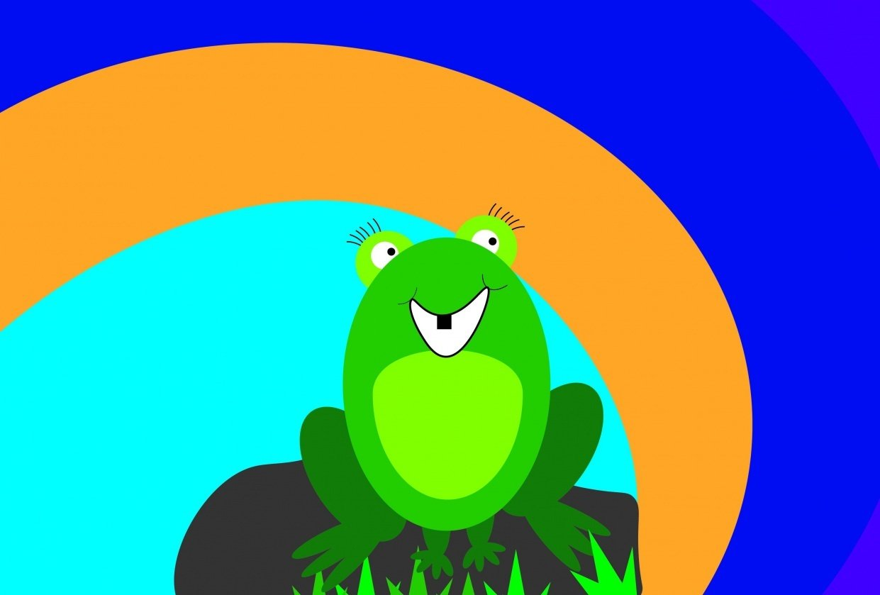 Happy Frog - student project