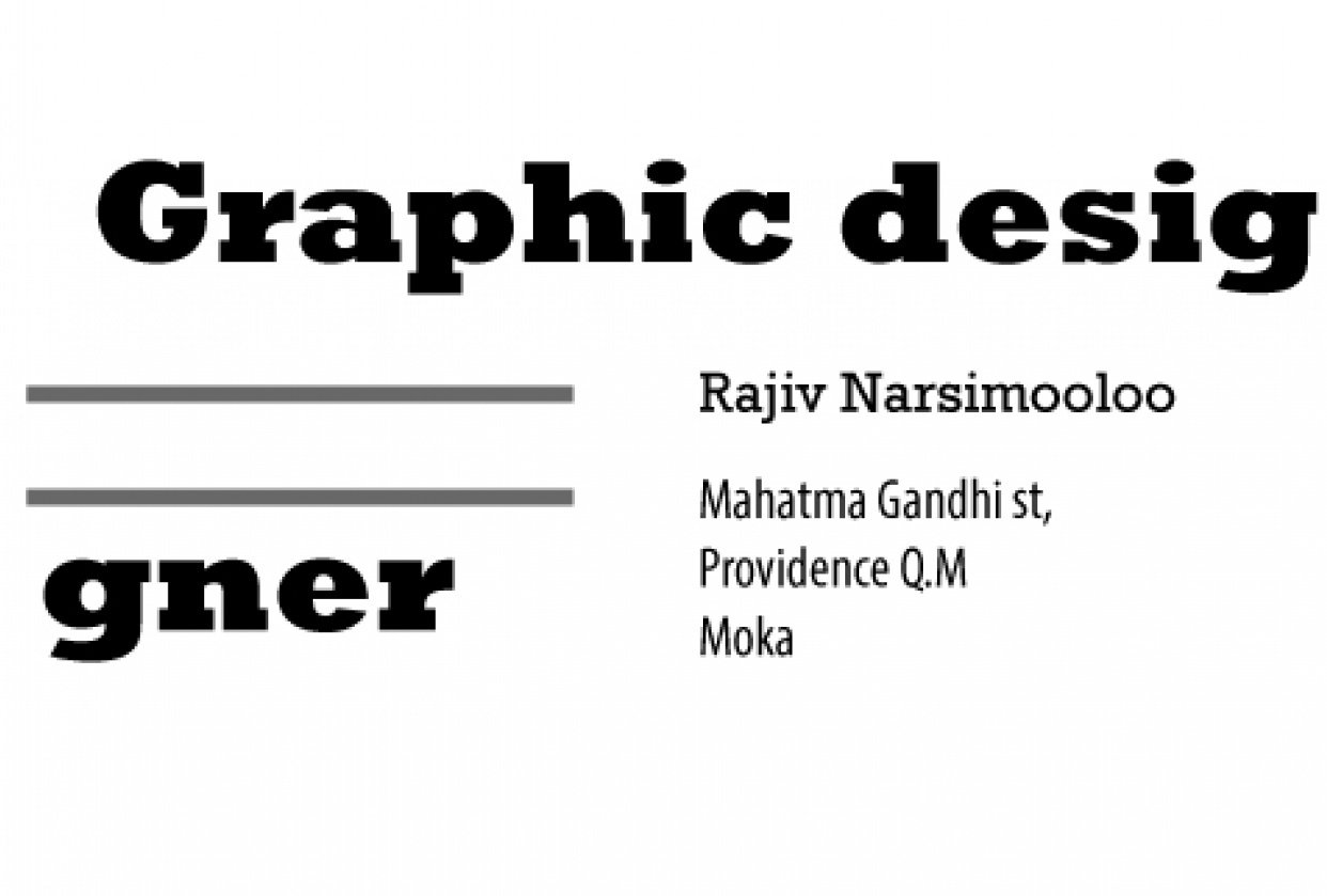 business card structure 1 - student project