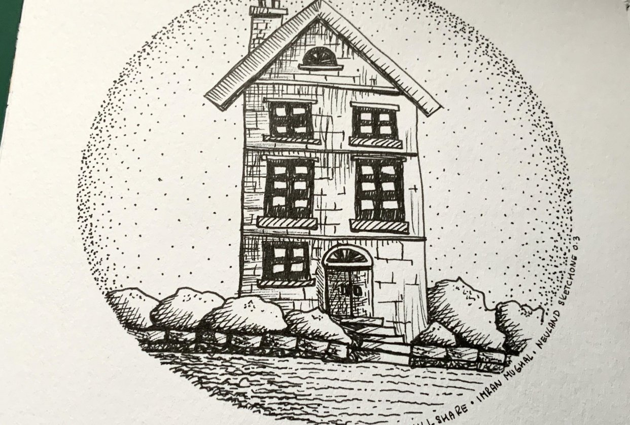 A little house - student project