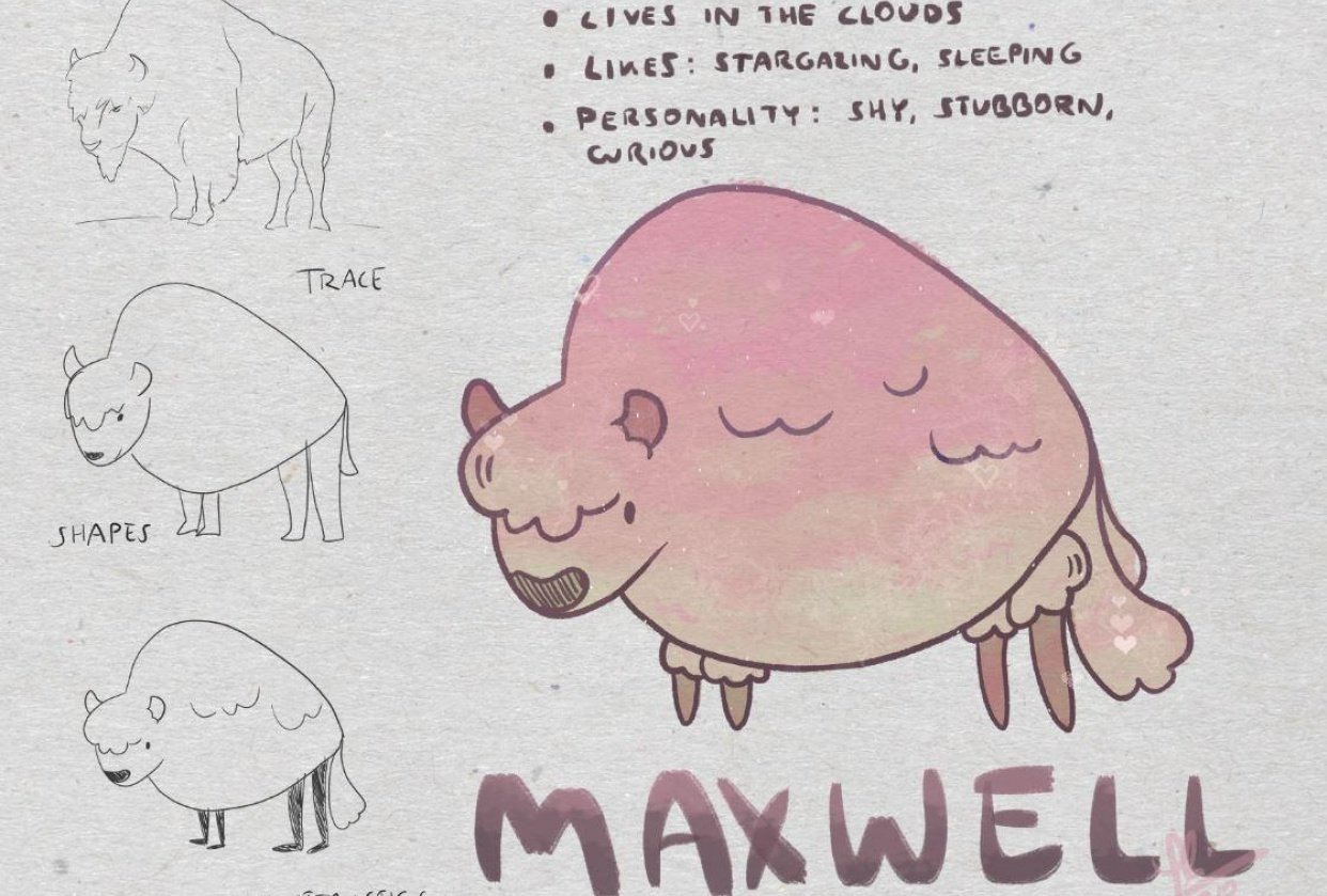 Maxwell the Cloud Bison - student project