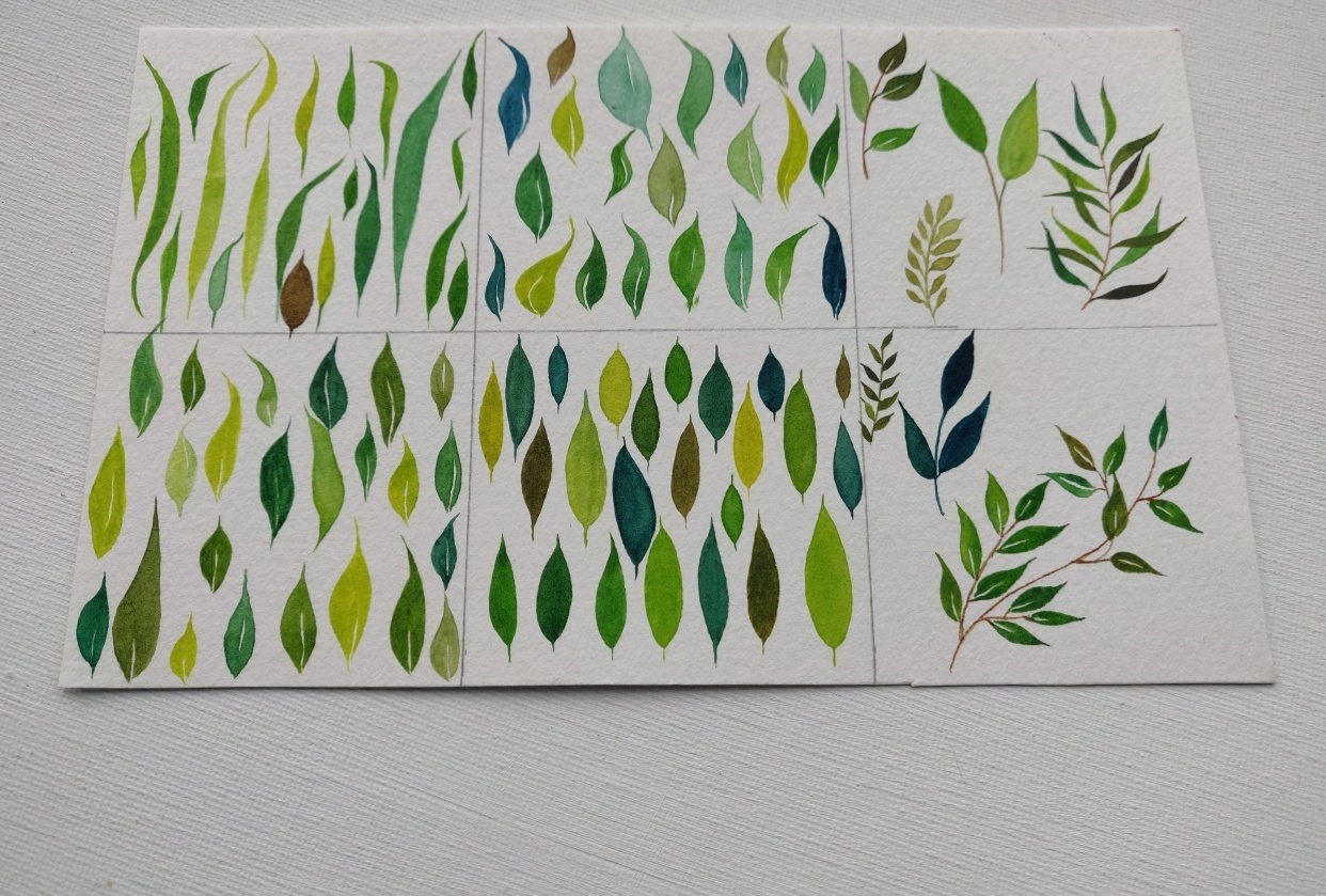 leaves practice - student project