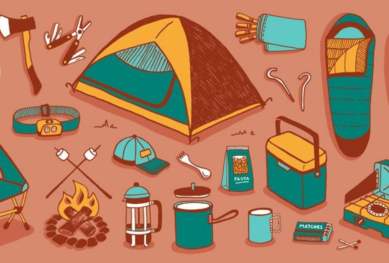 Camping Trip - Project Spec - student project