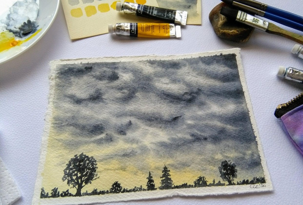 Sample Project: Dramatic Storm Clouds - student project
