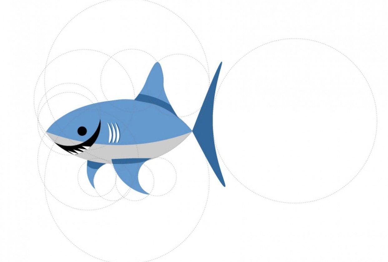 Golden Ratio Shark - student project