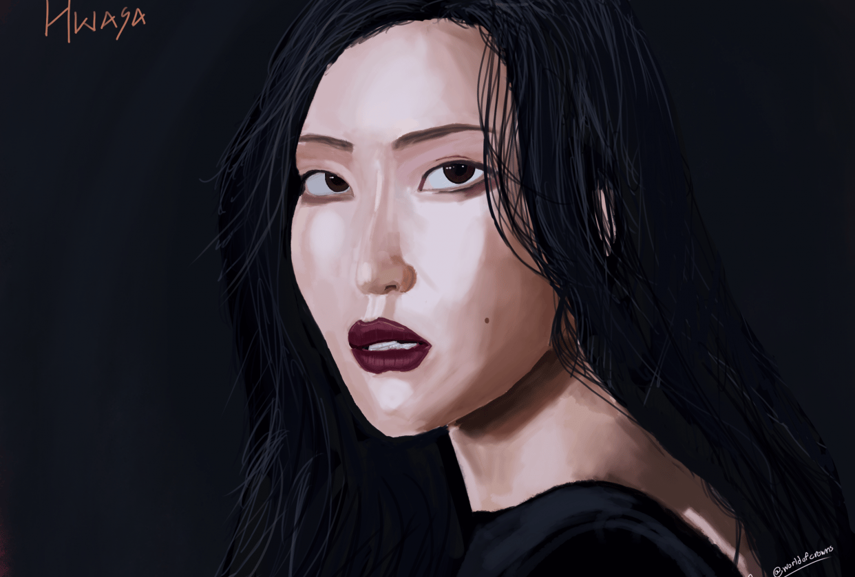 Hwasa - Fire - student project