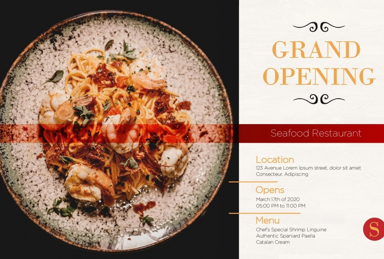 Spaniard Seafood Restaurant - student project