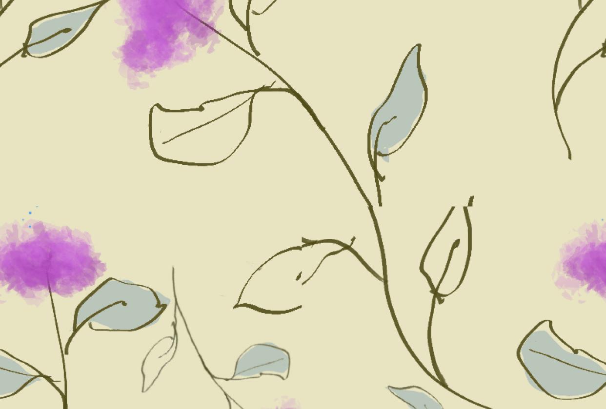 Pom Pom Flowers - student project