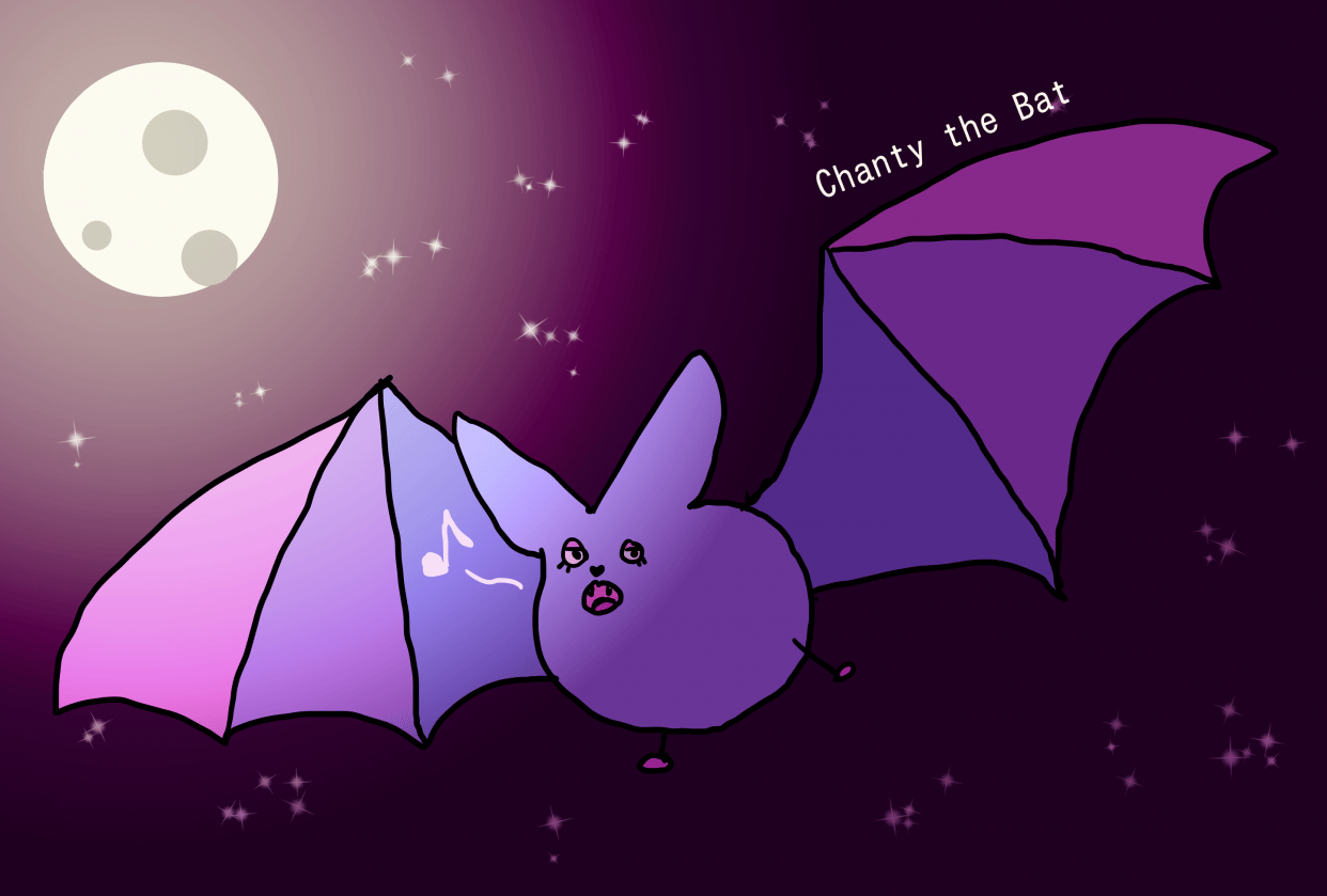 Chanty the Bat - student project