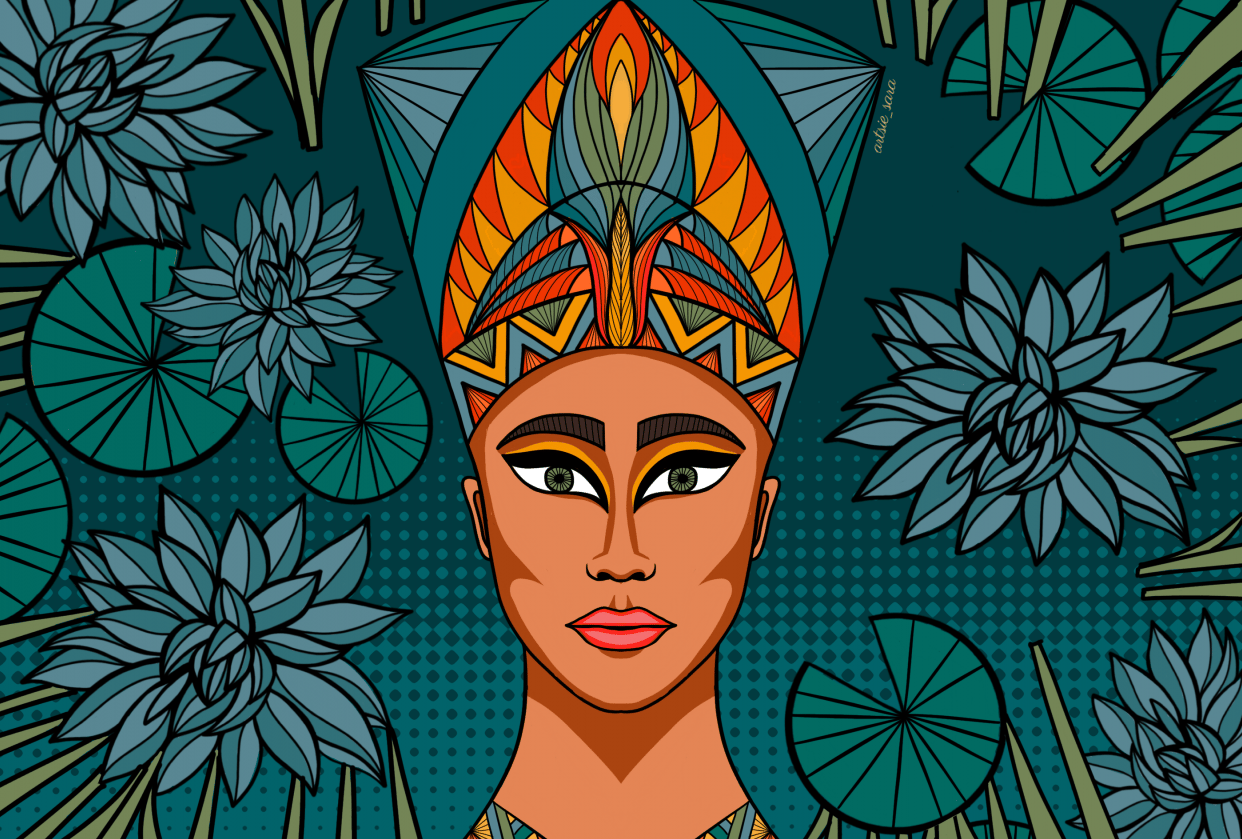 Nefertiti - student project