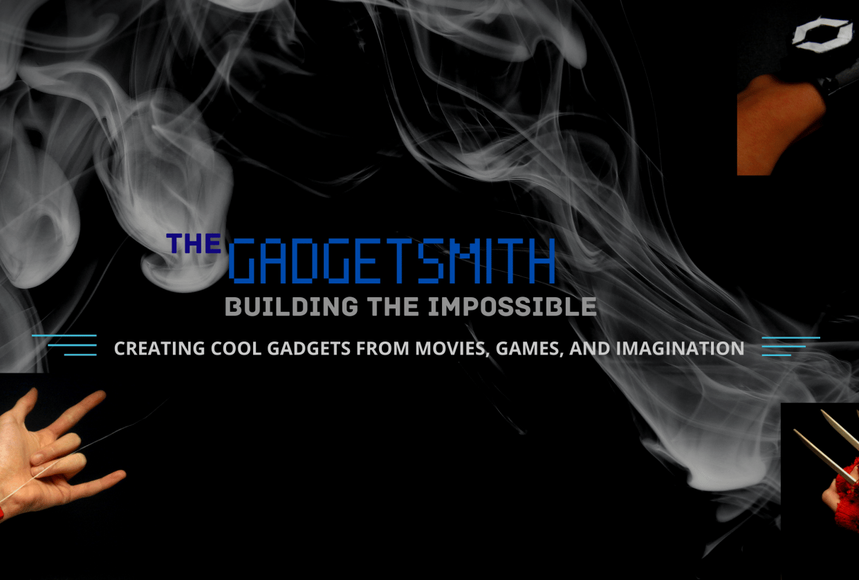 """""""The Gadgetsmith"""" Channel Art - student project"""