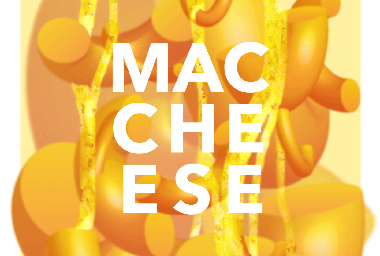 Mac & Cheese Poster - student project