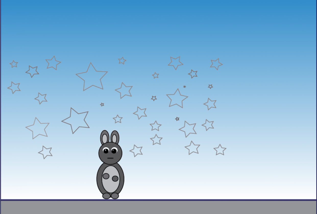 Bunny Rabbit - student project