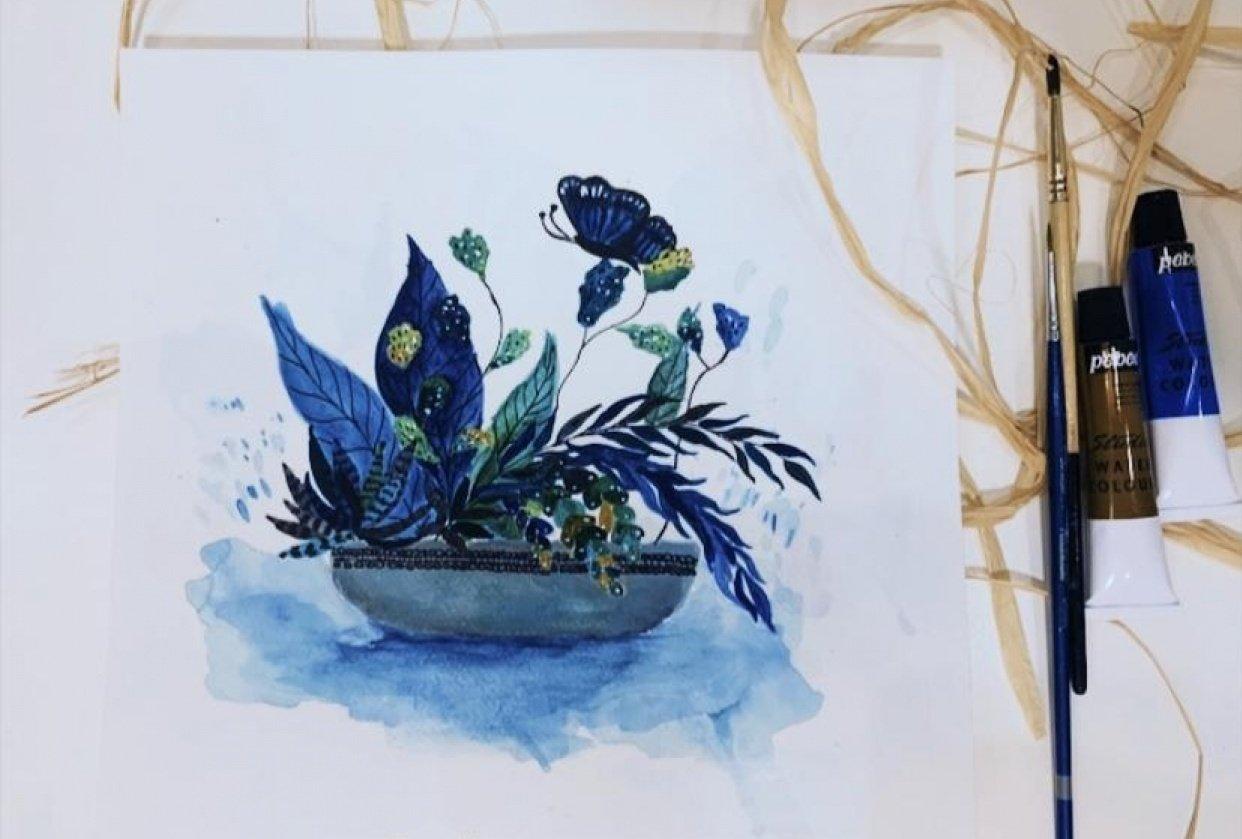 Acrylic Illustration - student project