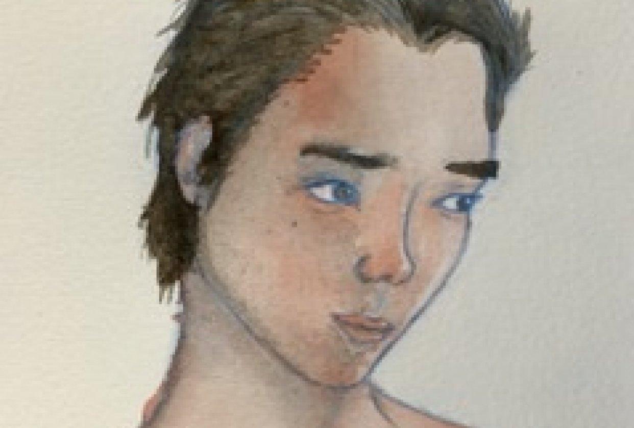 Watercolor Portrait Practice - student project