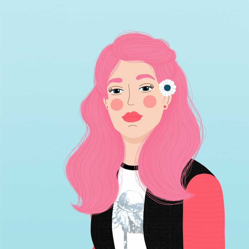 Portait 01 - Fun With Faces - student project