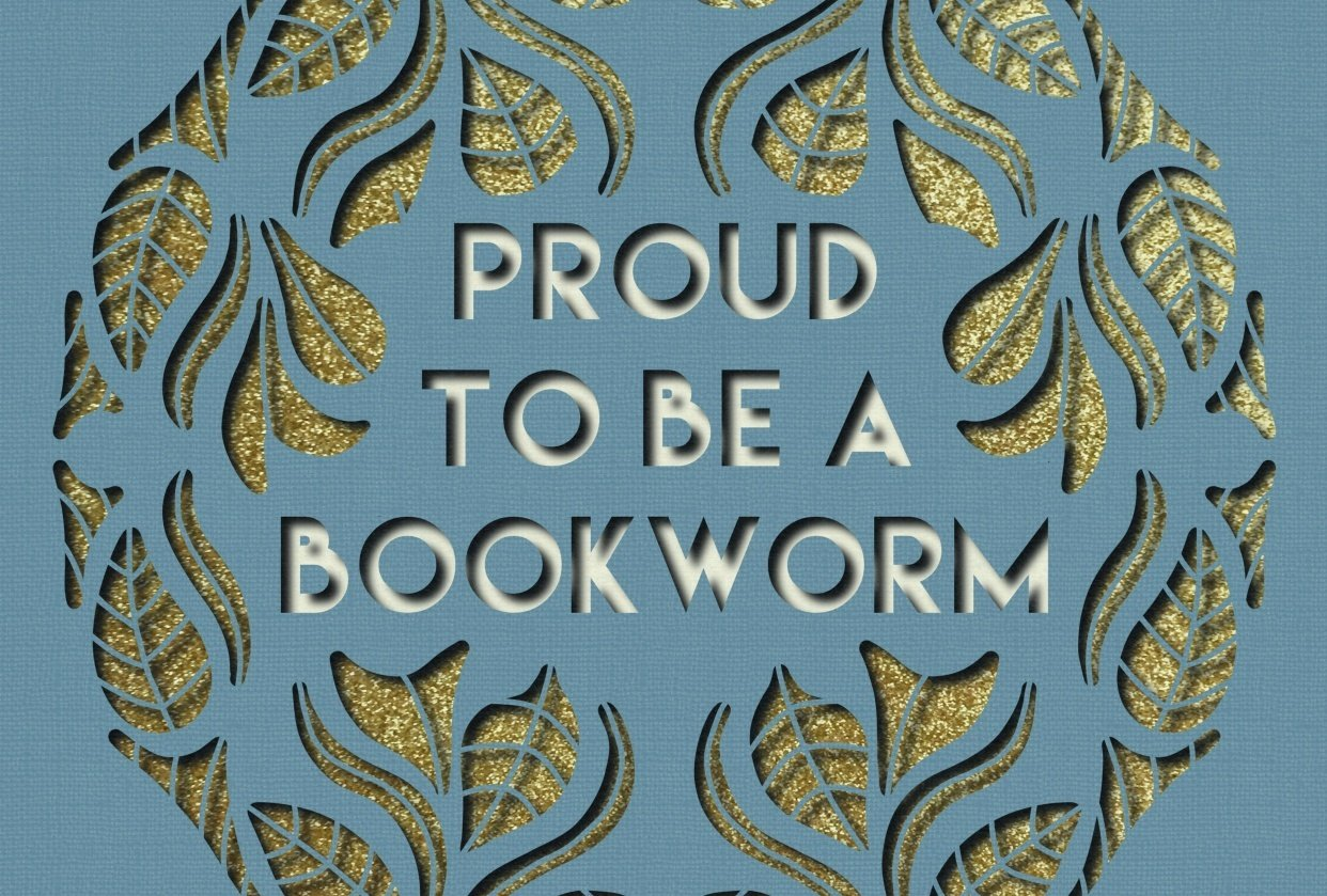 Proud to be a bookworm - student project
