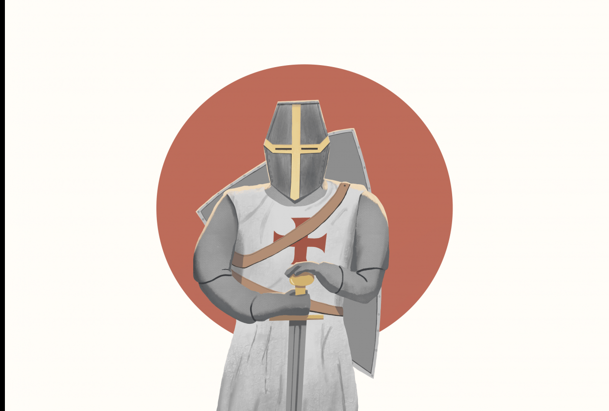 The Templar Knight - student project