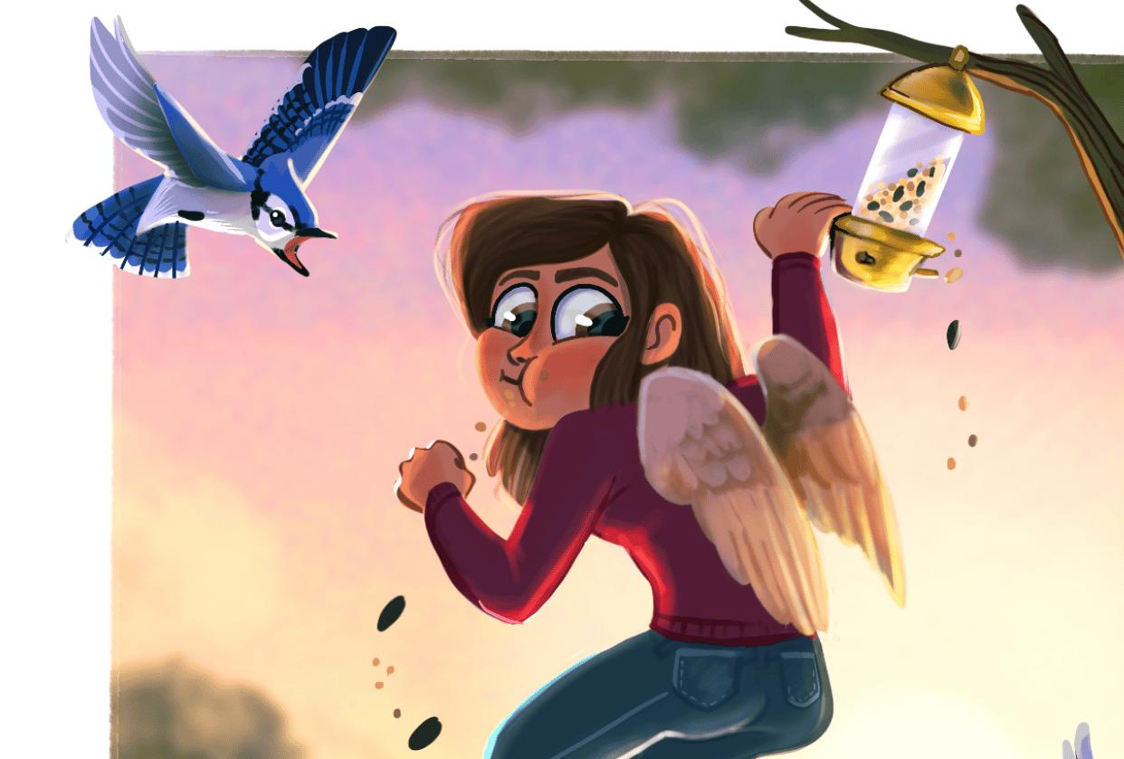 Bird Girl - student project