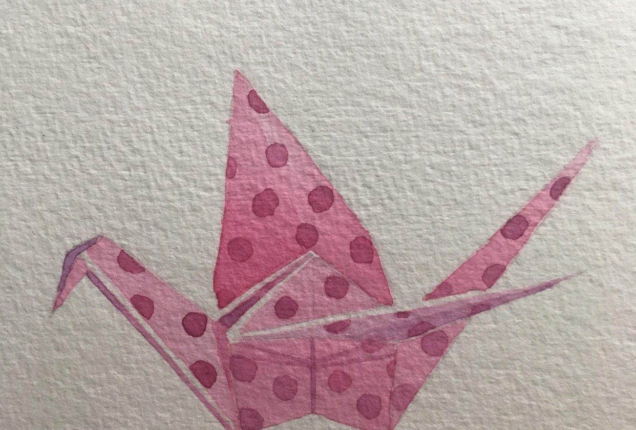 Origami Crane - student project