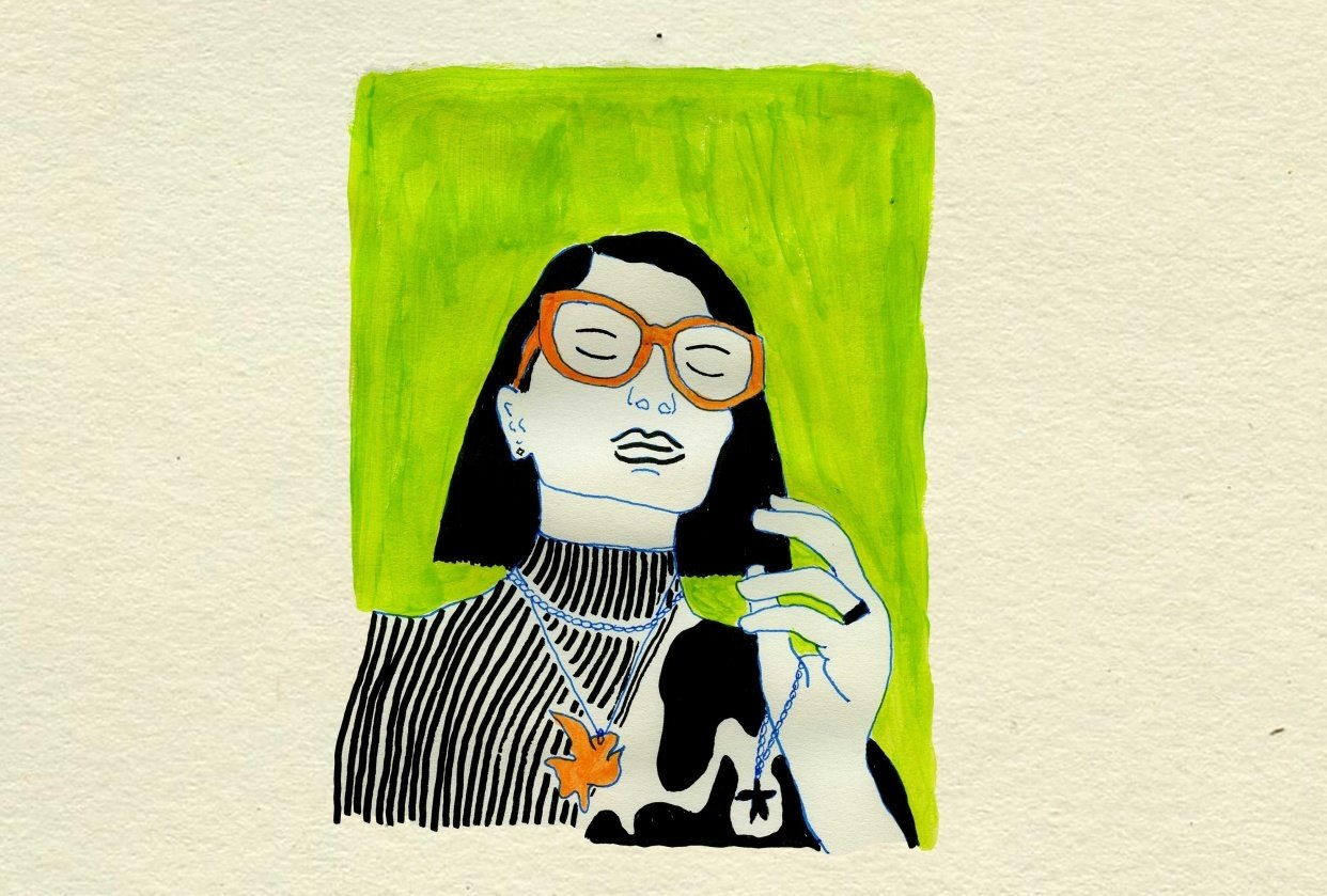 self-portraits in quarantine - student project