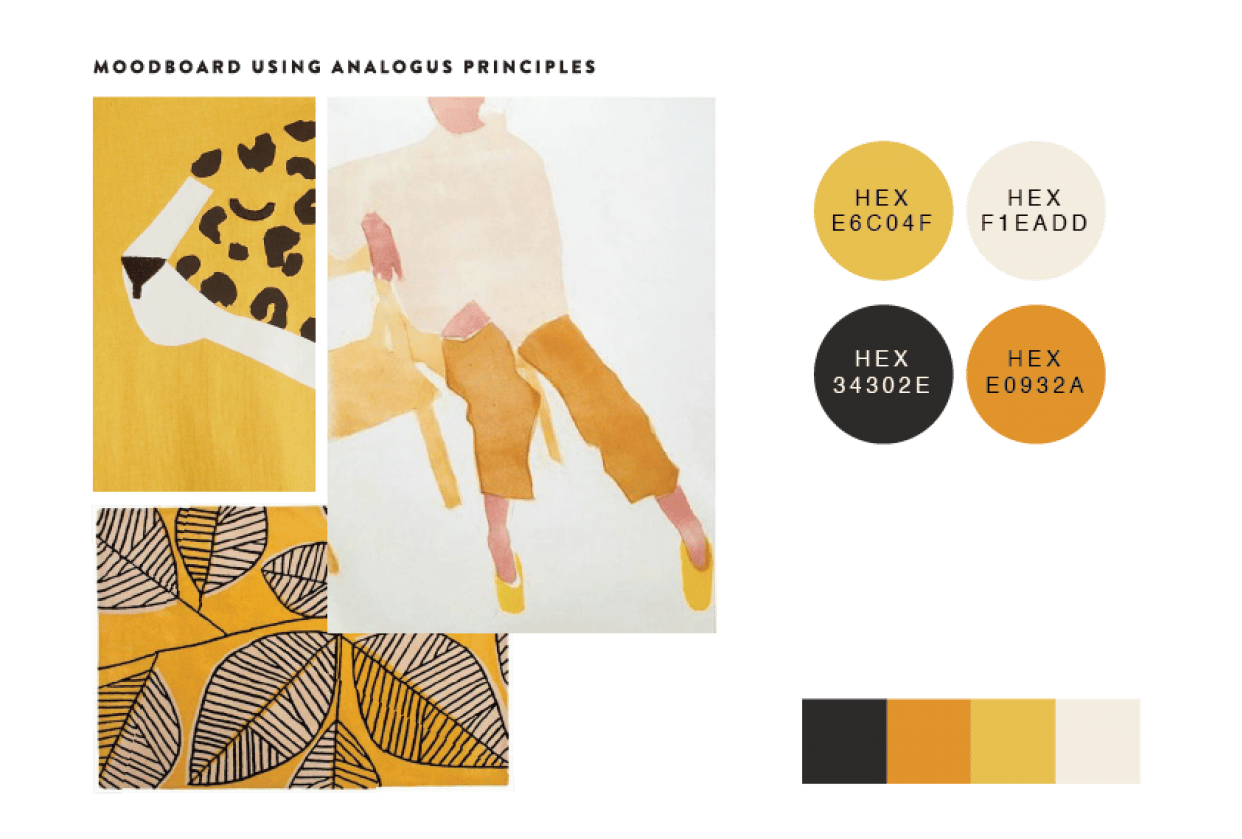 Moodboards - student project