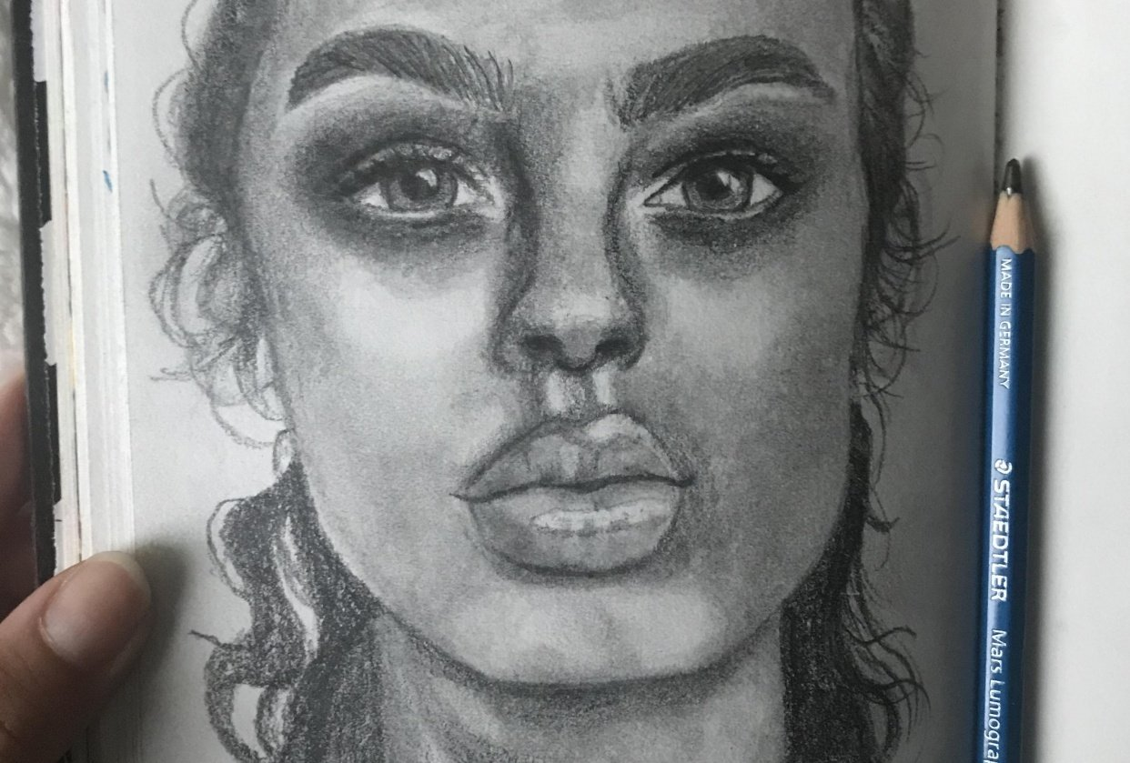 Portrait + sketches! - student project