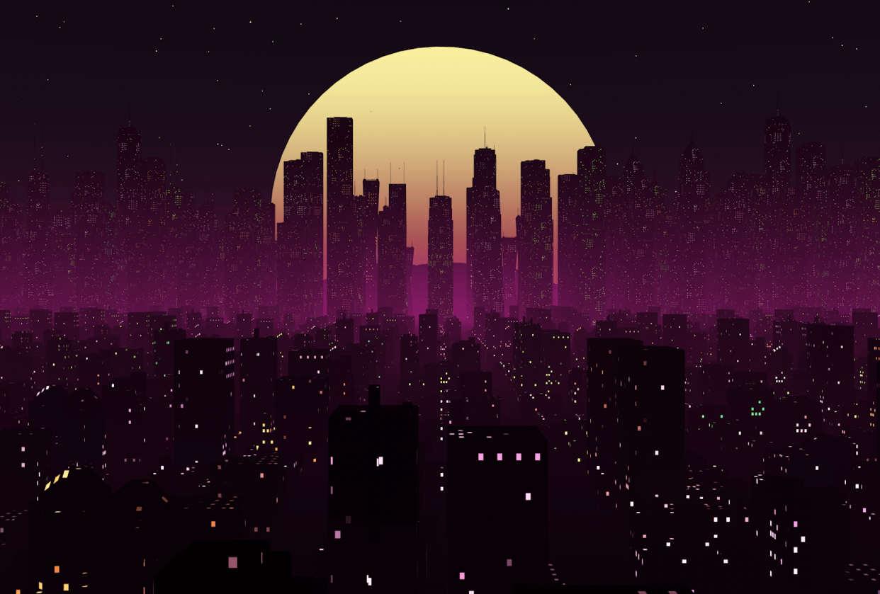 Neon City - student project