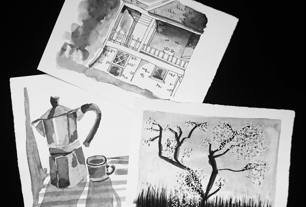 Ink from here - student project