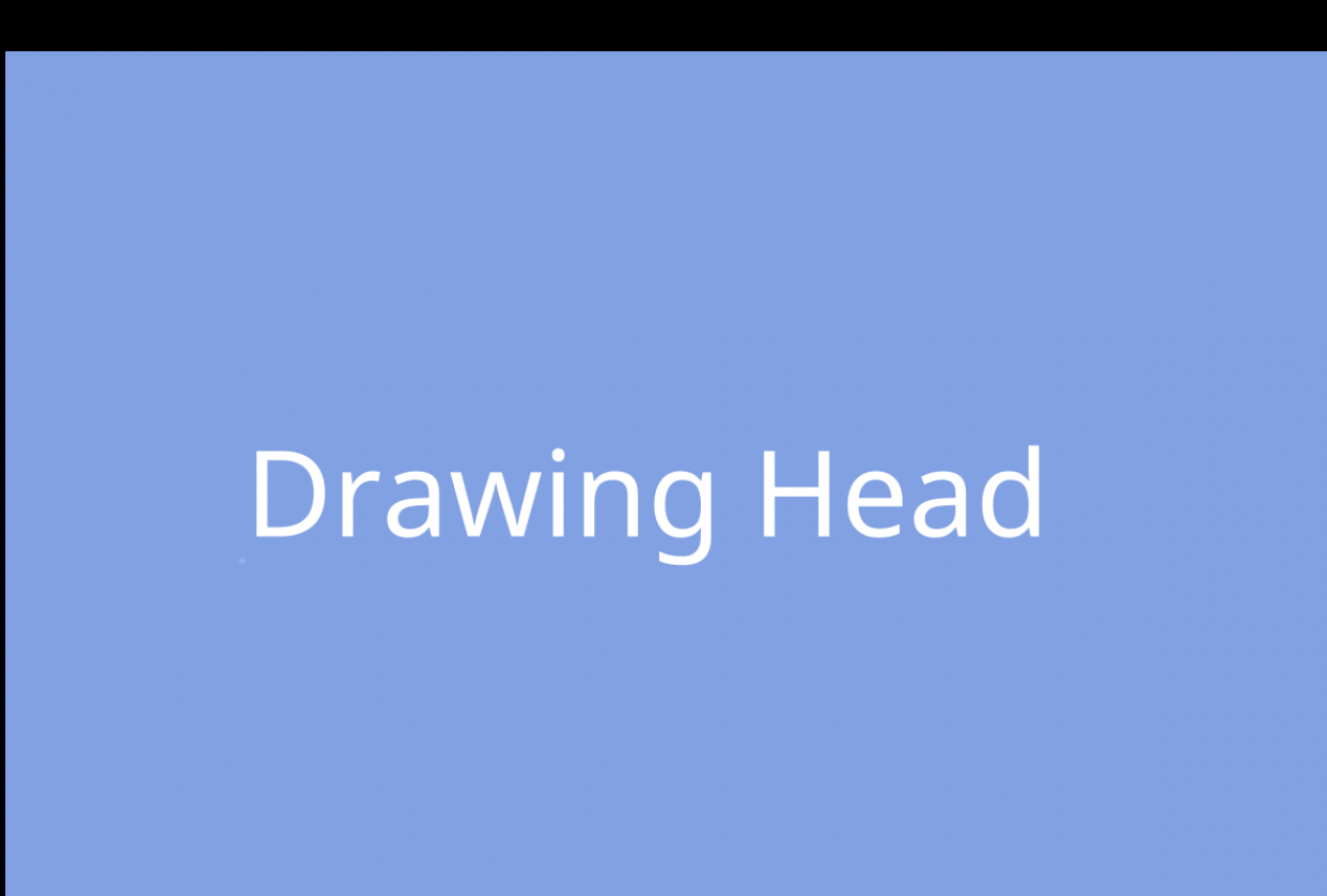 Drawing Head Part 1 - student project