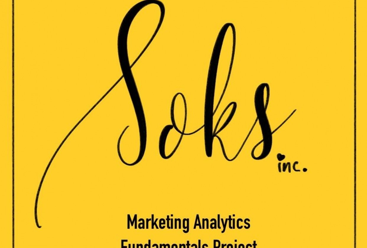 Marketing for Soks - student project