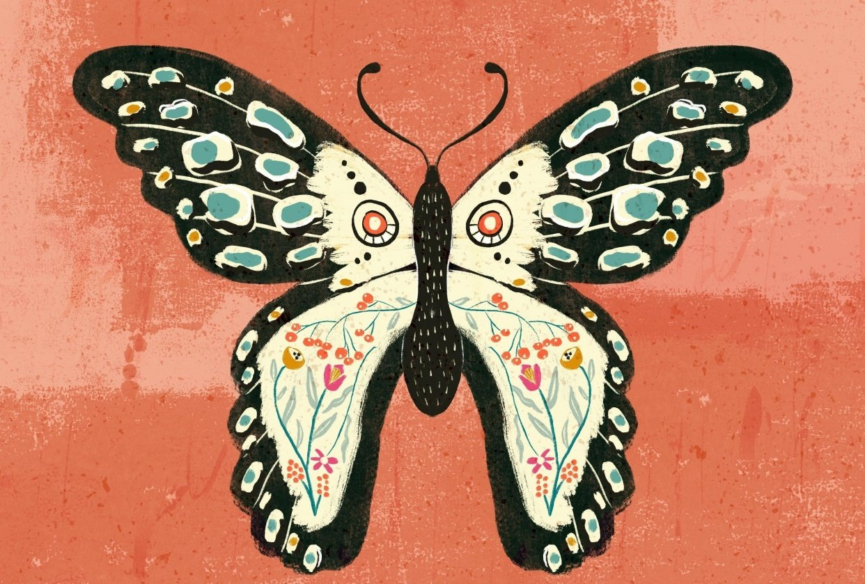 Butterfly series #1 - student project