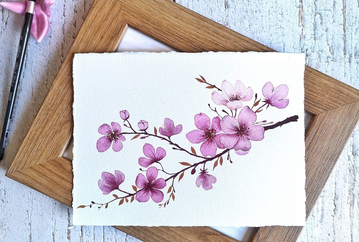 Cherry Blossoms - student project