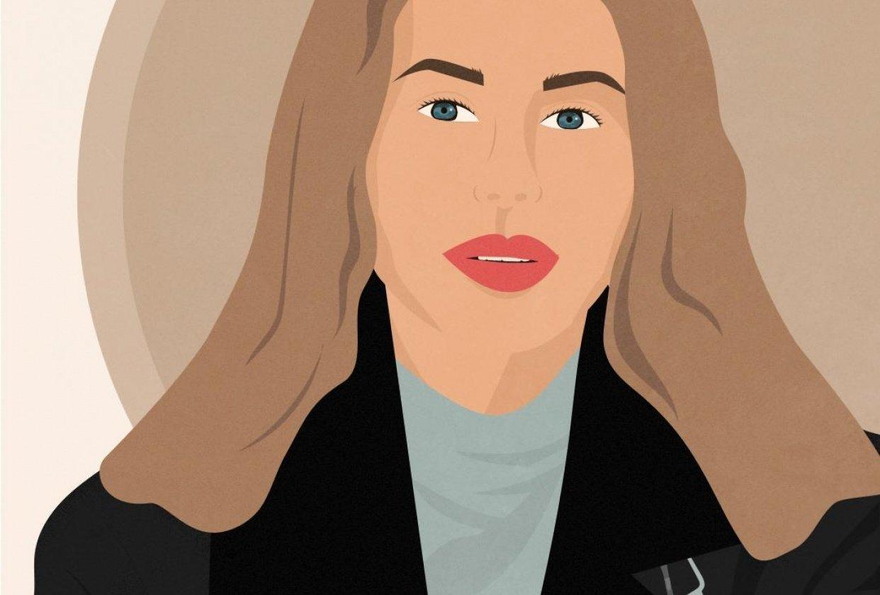 Portrait photograph vector - student project