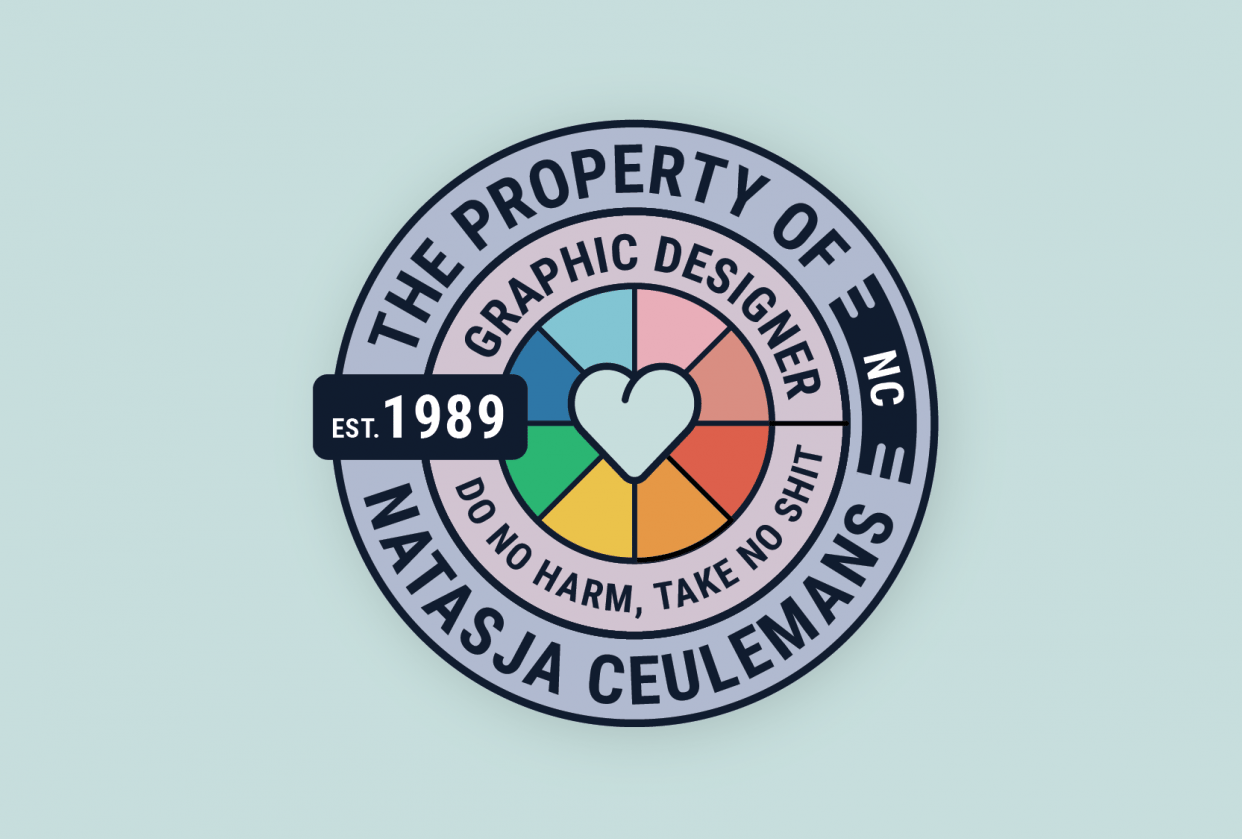 Personal sticker - student project