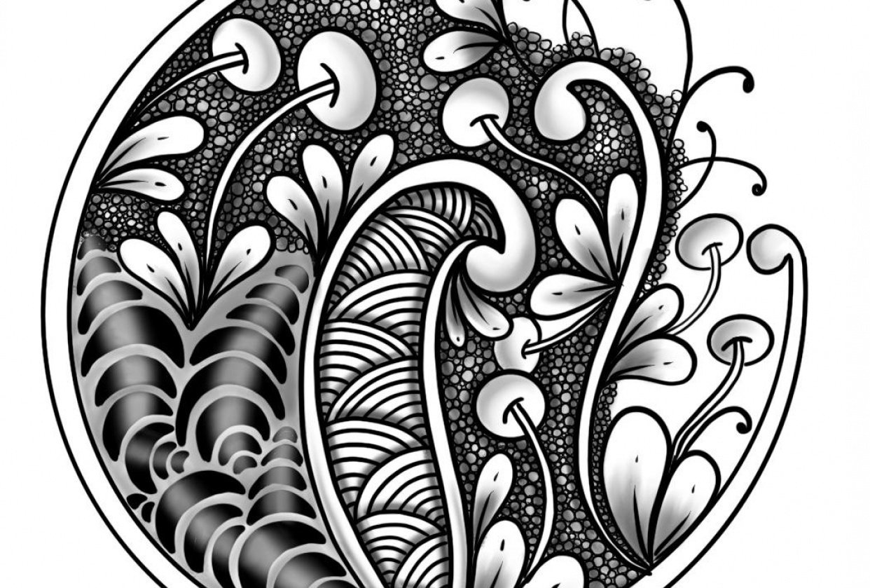 Zentangle project - student project