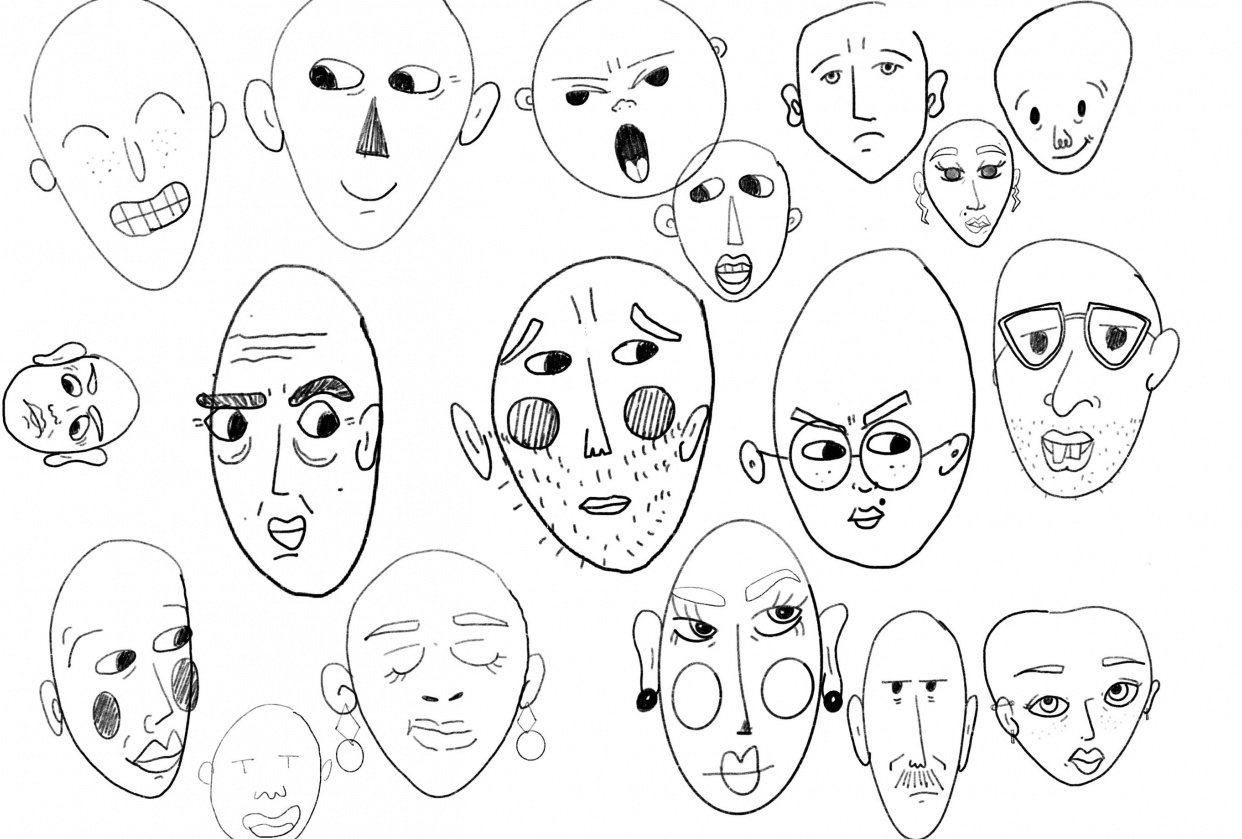 fun with faces - student project