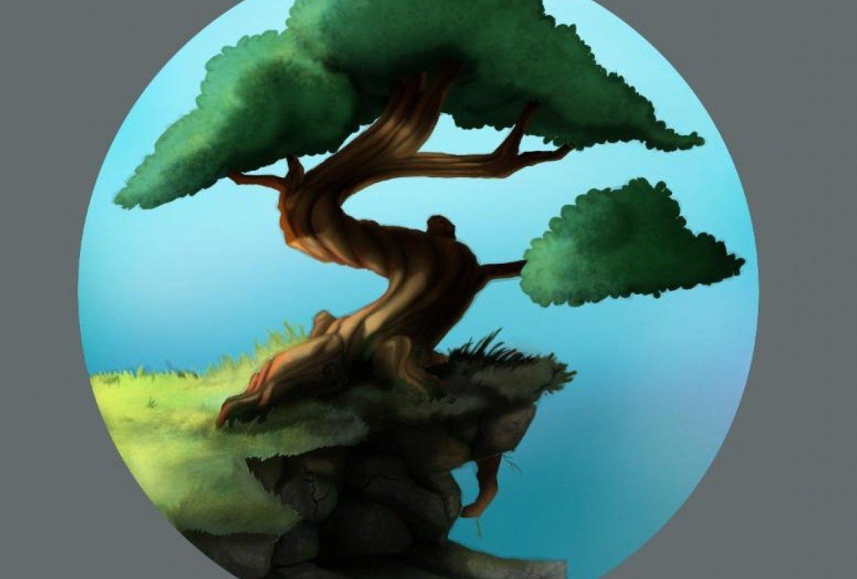 Tree follow along - student project