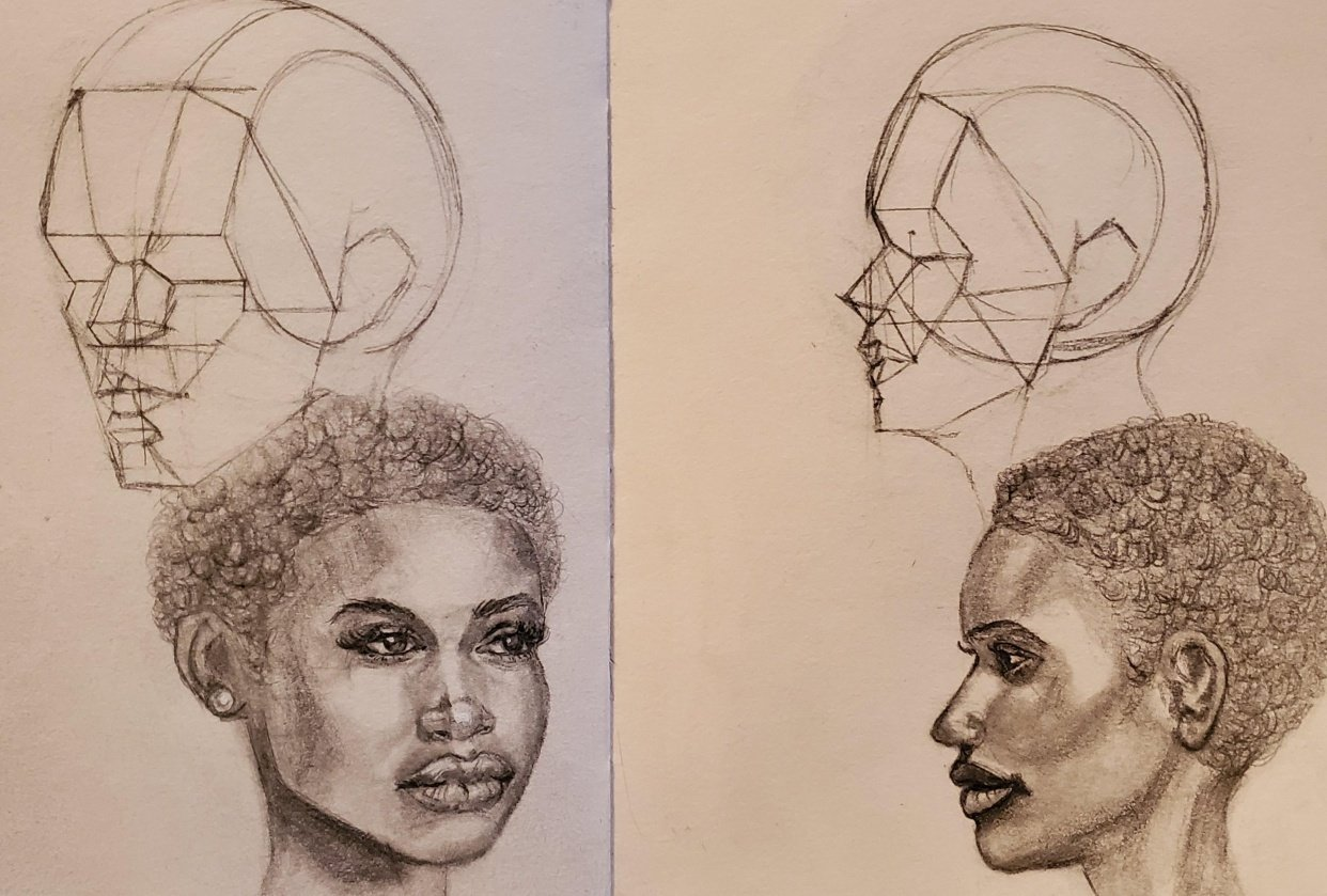 African Beauties! - student project
