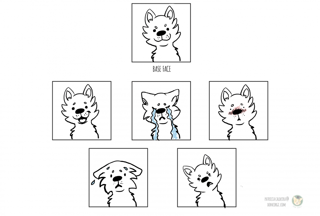 Character Expressions - student project