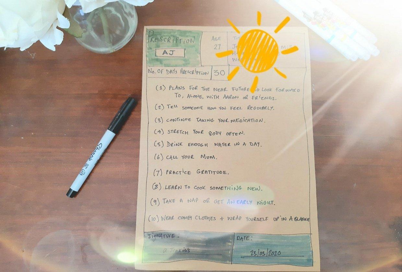 My Prescription - student project