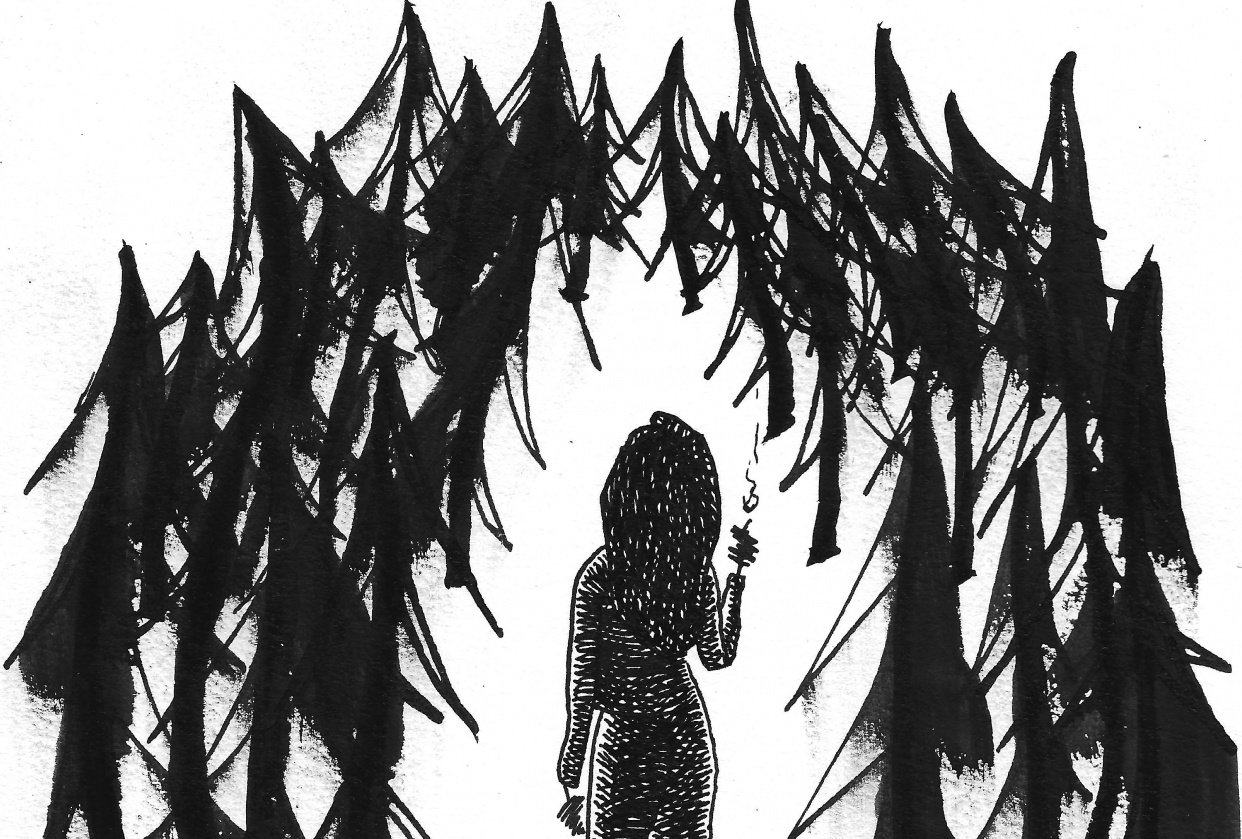 Illustrating with Ink - student project